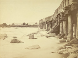 Cauvery Bridge [Ramaswami's] at Seringapatam [sic, for Sivasamudram].